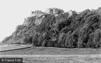 Stirling, Castle from King's Knot 1899