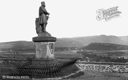 Stirling, Robert The Bruce Statue And Abbey Craig 1899