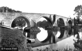 Stirling, the Bridge of Forth 1899