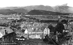 Stirling, View From Castle c.1955