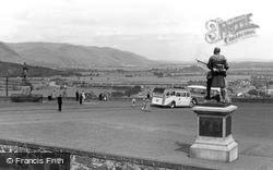 Stirling, View From Castle Ramparts c.1955