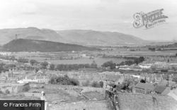 Stirling, View From The Castle c.1955