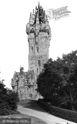 Stirling, Wallace Monument 1899