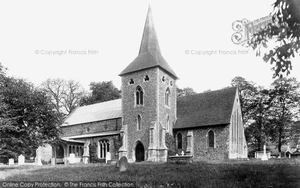 Shalford, St Andrew's Church 1909 Copyright The Francis Frith Collection 2005. http://www.frithphotos.com