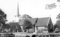 All Saints Church c.1965, Stock