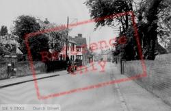 Church Street c.1955, Stock