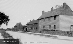Council Houses c.1955, Stock