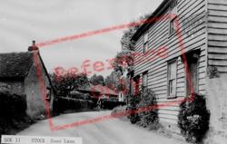 Swan Lane c.1955, Stock