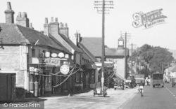 Stockbridge, High Street, Traffic c.1955