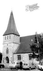 Stockbridge, St Peter's Church c.1965