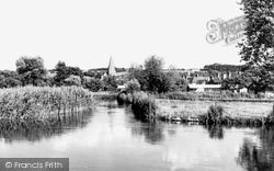 Stockbridge, The River Test c.1965