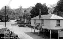 Stockbridge, The White Hart c.1955
