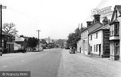 Stockbridge, View Of The Town c.1955