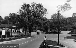 Stockbridge, Winchester Road c.1955