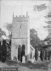 Stockleigh English, St Mary's Church 1906