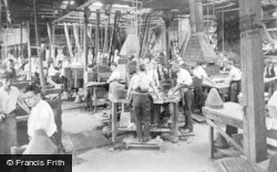 Stockport, Battersby Hat Works, Offerton c.1910