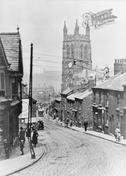Stockport, Churchgate c.1920