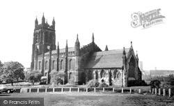 Stockport, St Mary's Church c.1965