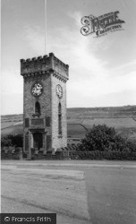 Clock Tower c.1965, Stocksbridge
