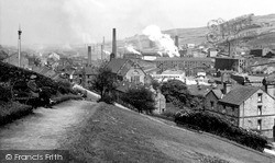 From The Clock Tower c.1955, Stocksbridge