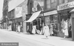 Manchester Road Shops c.1955, Stocksbridge