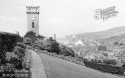 The Clock Tower c.1955, Stocksbridge