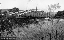 Knutsford Road Bridge c.1965, Stockton Heath