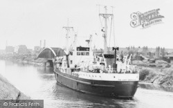 The Lady Gwendolen In The Ship Canal c.1965, Stockton Heath