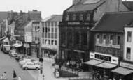 Stockton-on-Tees, Corner Of Dovecote Street c.1960