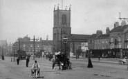 Stockton-on-Tees, High Street And St Thomas's Church 1899