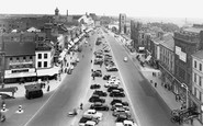 Stockton-on-Tees, High Street East From Town Hall c.1955