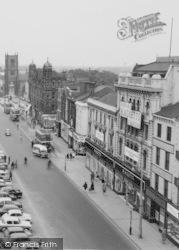 Stockton-on-Tees, High Street Shops c.1960