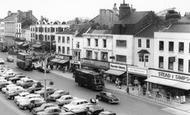 Stockton-on-Tees, High Street Shops c.1965