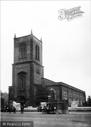 Stockton-on-Tees, The Parish Church Of St Thomas 1899