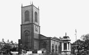 Stockton-on-Tees, The Parish Church Of St Thomas c.1955