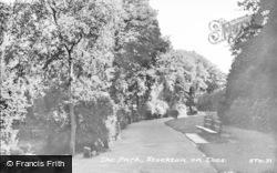 Stockton-on-Tees, The Park c.1955