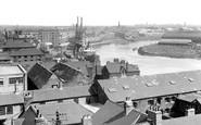 Stockton-on-Tees, The River Tees c.1955