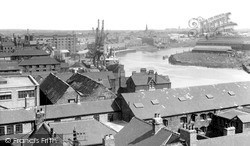 Stockton-on-Tees, The River Tees c.1955