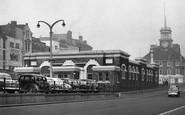 Stockton-on-Tees, The Shambles c.1960