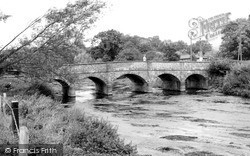 Stoford, The Bridge Over The River Wylye c.1955