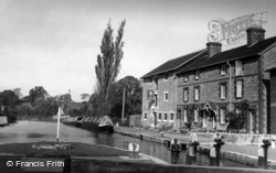 Canal And Museum c.1955, Stoke Bruerne