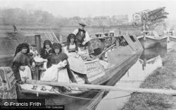 Canal Folk, Baby's Christening Day c.1913, Stoke Bruerne