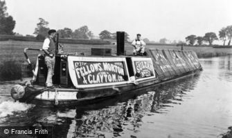 Stoke Bruerne, Steam Powered Narrow Boat 'Sultan' c1900