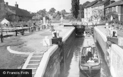 The Locks c.1955, Stoke Bruerne
