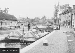 Waterways Museum c.1950, Stoke Bruerne