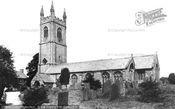 Stoke Climsland, Church 1908