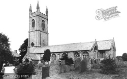Church 1908, Stoke Climsland