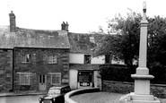 Stoke Climsland, Memorial and Village c1960