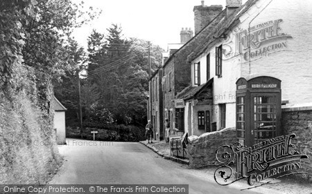 Photo of Stoke Climsland, Post Office Stores c.1960