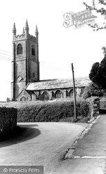 The Church c.1960, Stoke Climsland
